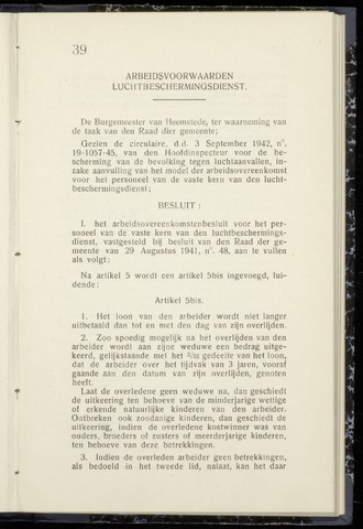 Raadsnotulen Heemstede 1942-09-18