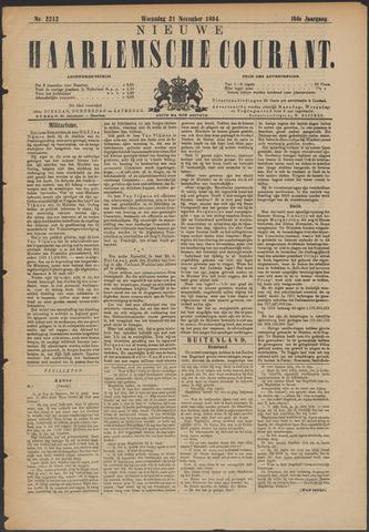 Nieuwe Haarlemsche Courant 1894-11-21