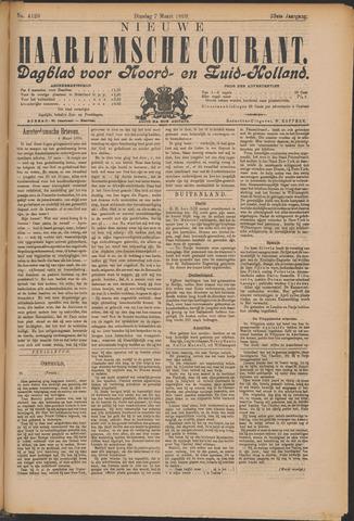 Nieuwe Haarlemsche Courant 1899-03-07
