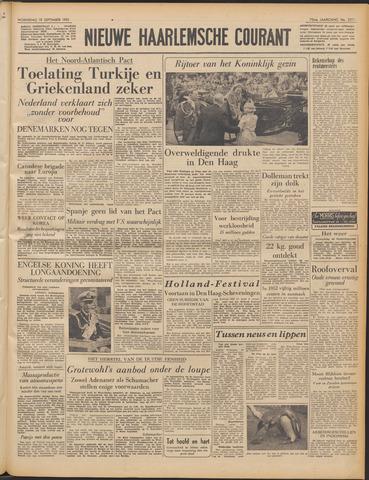 Nieuwe Haarlemsche Courant 1951-09-19