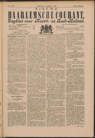 Nieuwe Haarlemsche Courant 1899-09-21