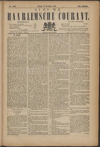Nieuwe Haarlemsche Courant 1889-12-13