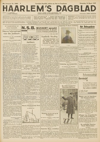 Haarlem's Dagblad 1935-03-13