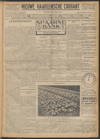 Nieuwe Haarlemsche Courant 1929-04-13