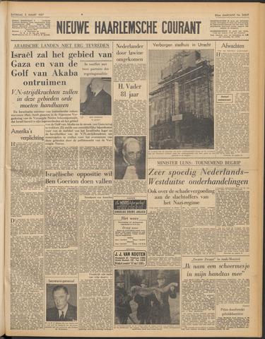 Nieuwe Haarlemsche Courant 1957-03-02