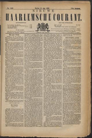 Nieuwe Haarlemsche Courant 1892-06-19
