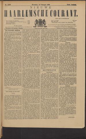 Nieuwe Haarlemsche Courant 1896-02-19
