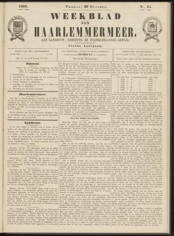 Weekblad van Haarlemmermeer 1869-10-29
