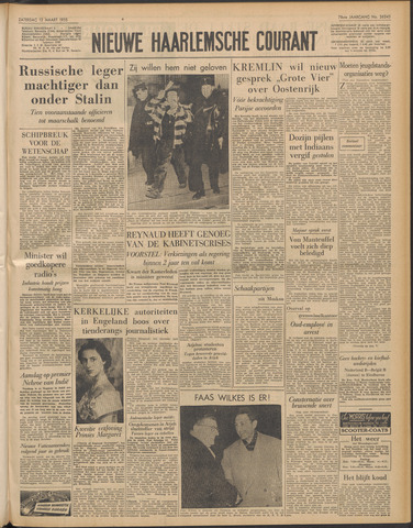 Nieuwe Haarlemsche Courant 1955-03-12