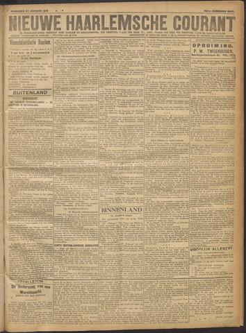 Nieuwe Haarlemsche Courant 1919-01-27