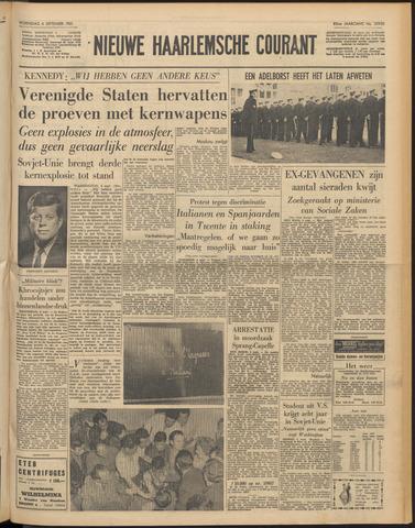 Nieuwe Haarlemsche Courant 1961-09-06