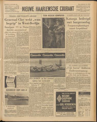 Nieuwe Haarlemsche Courant 1961-09-25