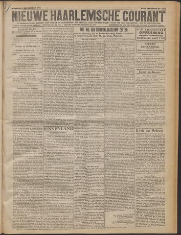 Nieuwe Haarlemsche Courant 1919-12-01