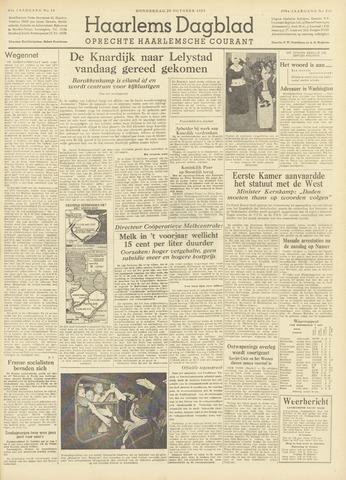 Haarlem's Dagblad 1954-10-28