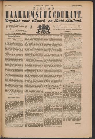 Nieuwe Haarlemsche Courant 1898-08-24