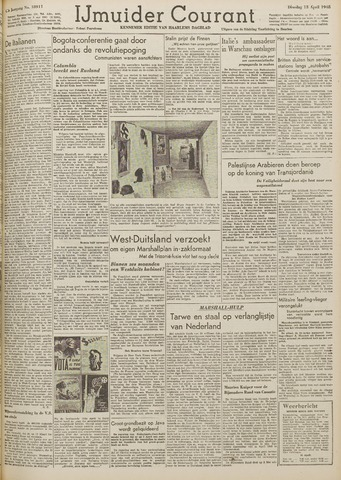IJmuider Courant 1948-04-13