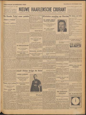 Nieuwe Haarlemsche Courant 1932-11-21