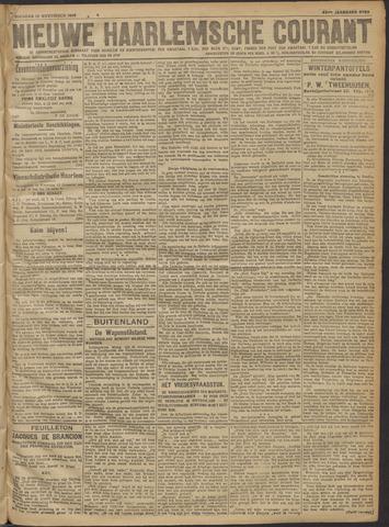 Nieuwe Haarlemsche Courant 1918-11-12
