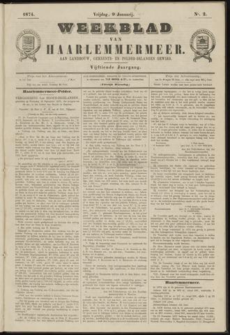 Weekblad van Haarlemmermeer 1874-01-09