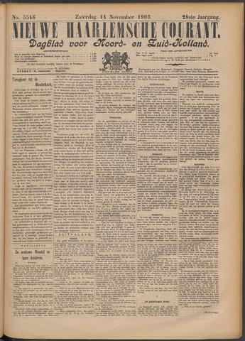 Nieuwe Haarlemsche Courant 1903-11-14