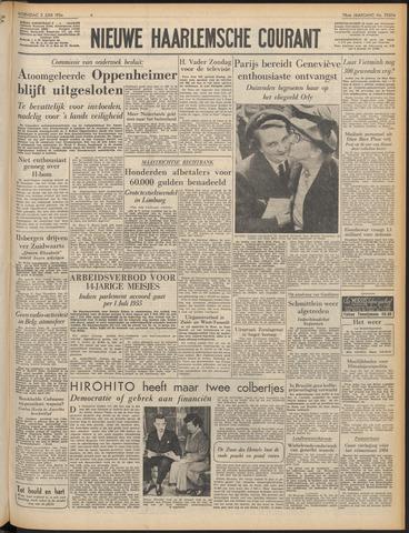 Nieuwe Haarlemsche Courant 1954-06-02