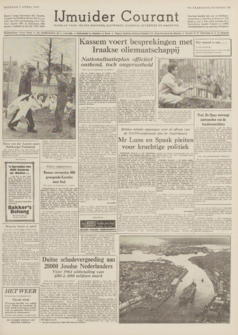 IJmuider Courant 1959-04-07