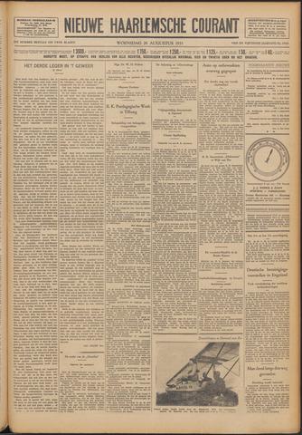Nieuwe Haarlemsche Courant 1931-08-26