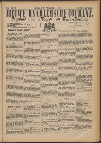 Nieuwe Haarlemsche Courant 1905-08-08