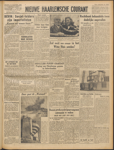 Nieuwe Haarlemsche Courant 1948-10-15