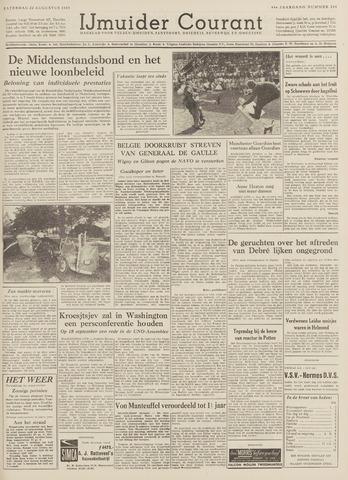 IJmuider Courant 1959-08-22