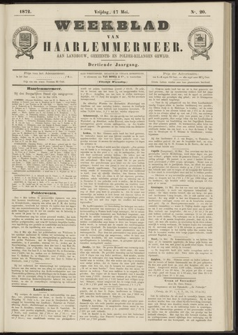 Weekblad van Haarlemmermeer 1872-05-17