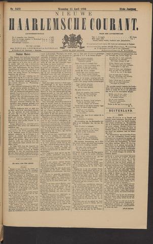 Nieuwe Haarlemsche Courant 1896-04-15