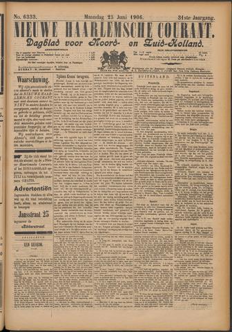 Nieuwe Haarlemsche Courant 1906-06-25