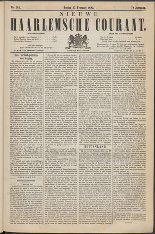 Nieuwe Haarlemsche Courant 1882-02-12