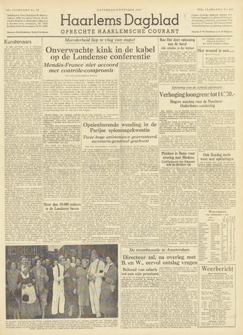 Haarlem's Dagblad 1954-10-02