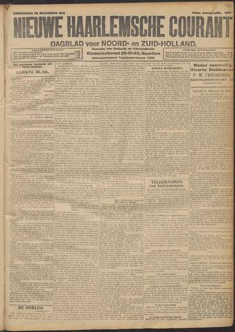 Nieuwe Haarlemsche Courant 1914-11-26
