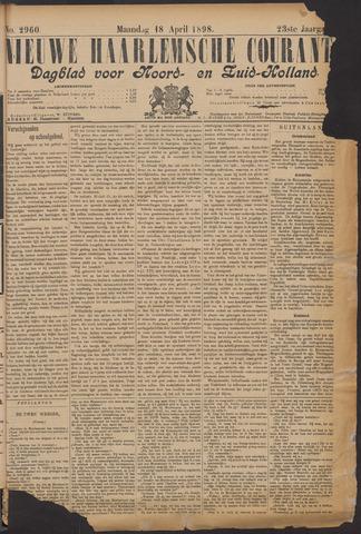 Nieuwe Haarlemsche Courant 1898-04-18