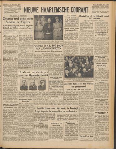 Nieuwe Haarlemsche Courant 1950-02-21