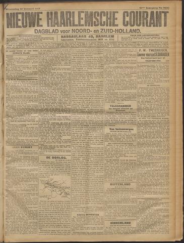 Nieuwe Haarlemsche Courant 1917-01-10
