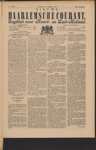 Nieuwe Haarlemsche Courant 1899-09-14