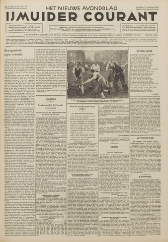 IJmuider Courant 1938-01-25