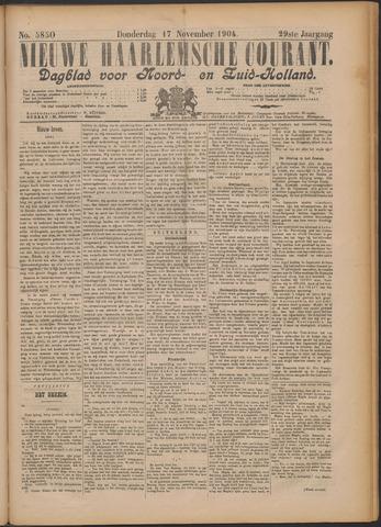 Nieuwe Haarlemsche Courant 1904-11-17