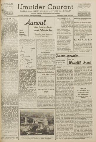 IJmuider Courant 1939-10-17