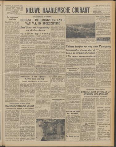 Nieuwe Haarlemsche Courant 1950-11-29