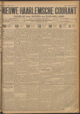 Nieuwe Haarlemsche Courant 1908-09-18