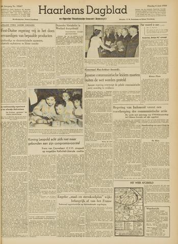 Haarlem's Dagblad 1950-06-06