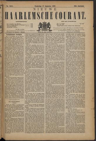 Nieuwe Haarlemsche Courant 1893-08-17