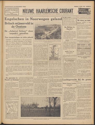 Nieuwe Haarlemsche Courant 1940-04-15