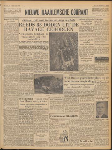 Nieuwe Haarlemsche Courant 1952-10-09