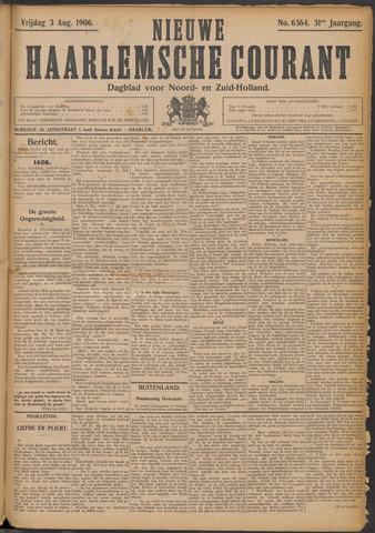 Nieuwe Haarlemsche Courant 1906-08-03